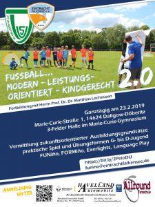 Fussball… Modern -Leistungsorientiert – Kindgerecht 2.0 @ 3 Felderhalle Marie-Curie-Gymnasium